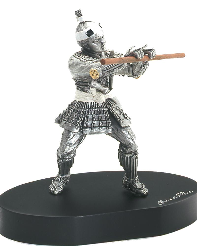 Figurine en etain du samourai maitre d 39 armes for What is a maitre d